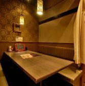 四名様のBOXシートです【横浜 居酒屋 個室】