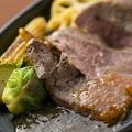 料理メニュー写真国産牛のロースステーキ