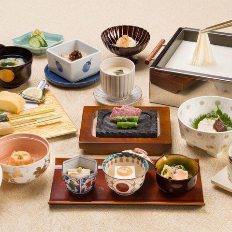 【梅の花膳 極 -きわみ-】熊本阿蘇あか牛と魚の西京焼きが選べる懐石 5700円