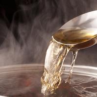 しゃぶしゃぶ出汁とこだわり鍋6種から2種類選べる!