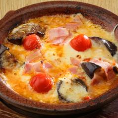 茄子とトマトのチーズ焼