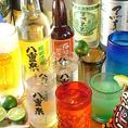 泡盛・日本酒・地酒も豊富に御用意!!