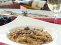 料理メニュー写真ポルチーニ茸とキノコのリゾット