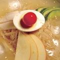 料理メニュー写真本格冷麺
