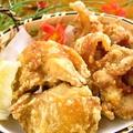 料理メニュー写真若鶏の唐揚げ / 軟骨の唐揚げ