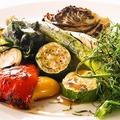 料理メニュー写真季節の焼き野菜盛り合わせ
