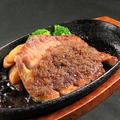 料理メニュー写真千寿もち豚の鉄板ステーキ