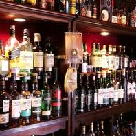 ウイスキー、ブランデー、テキーラなど世界の銘酒勢揃い