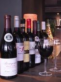 豊富でリーズナブルなワインリスト。料理の味を引き立てます。