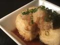 料理メニュー写真ポン酢揚げ出し豆腐