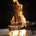 名物 炎の炙り焼き