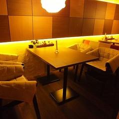 少人数の宴会やデートにも最適な個室・半個室空間をご用意