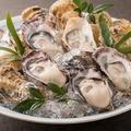 料理メニュー写真殻つき「生牡蠣」 (1個)