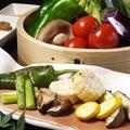 料理メニュー写真旬野菜盛り合わせ