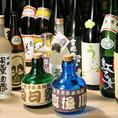 各種地酒ご用意。【神田有薫】では居酒屋利用の方にご満足頂けますように、九州郷土料理を九州の地酒も取り揃えております。