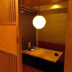 【2階◎和風個室】落ち着いたおしゃれ空間でご宴会はいかが?4名個室のご用意もございます。