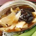 料理メニュー写真蒸し鮑と椎茸の旨煮