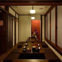 洗練されたデザインの掘りごたつ半個室