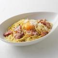 料理メニュー写真イタリア産熟成チーズの濃厚カルボナーラ