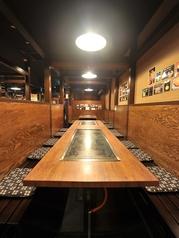 ご宴会には、こちらの長テーブルのお席がお勧めです