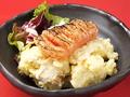 料理メニュー写真炙り明太子のポテトサラダ