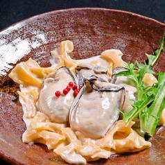 牡蠣のファルファッレ