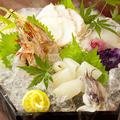 料理メニュー写真◆ 海鮮しゃぶ 3種盛り ◆