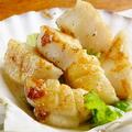 料理メニュー写真帆立のソテー ガーリック醤油