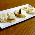 料理メニュー写真自家製?チーズ三種盛り