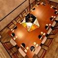 ~14名様までのドア付きテーブル個室