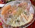 料理メニュー写真海鮮カルパッチョ盛合せ