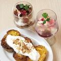料理メニュー写真デザートは日替わり、季節ごとにご用意しています。