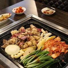 モドゥムコプチャン(韓国式ホルモン焼き)