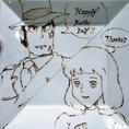 ご希望のキャラクタープレートでサプライズ!!