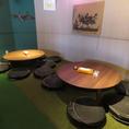 【2階★人工芝の座敷】大テーブルは4~7名様までok