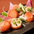 料理メニュー写真北海道産の帆立貝柱燻
