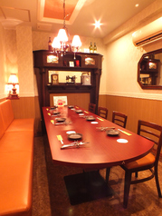 6名様~8名様の個室<テーブル>