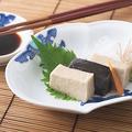 料理メニュー写真胡麻豆腐