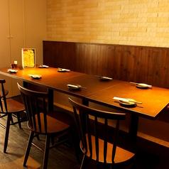 【テーブル席】2名様~最大12名様