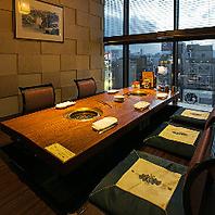 完全個室、夜景個室など全席個室で贅沢和牛焼肉の人気店