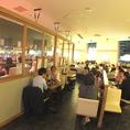 全52席。ヨドバシカメラ梅田店8階でお待ちしております。