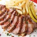 料理メニュー写真イベリコ豚の鉄板焼き