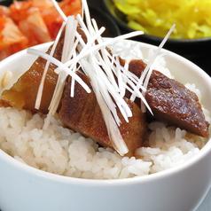 角煮丼・ピリ辛豚シャブ丼・唐揚丼・辛味噌丼・ネギチャ丼・マグロ丼