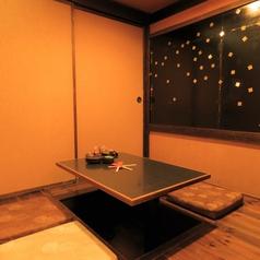 大小個室多数ご用意しております。