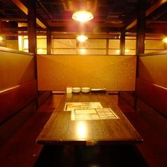 ゆったり4名テーブル席★