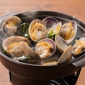 料理メニュー写真■厚岸産浅利の酒蒸し
