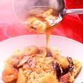 料理メニュー写真ロコ貝の醤油煮込み/ロコ貝のクリーム煮込み/海鮮おこげ