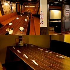 【コロナ対策・完全個室】5名~8名の個室!大人気の個室は周りを気にしない完全個室!2部屋繋げる事で最大20名様の完全個室に!人気のお席の為事前のネット予約がおすすめです!