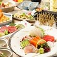 2時間飲み放題付き宴会コースは4000円~ご用意しております!!+1000円でおすすめ地酒も飲み放題になります。