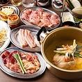 【厳選食材】鹿児島県産ドラゴンポーク・沖縄県産あぐーなど当店だからこそ味わえる厳選食材を多数取り揃えております!